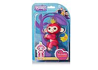 Интерактивная игрушка обезьянка Fingerlings Baby Monkey / Интерактивная ручная обезьянка / Говорящая обезьянка