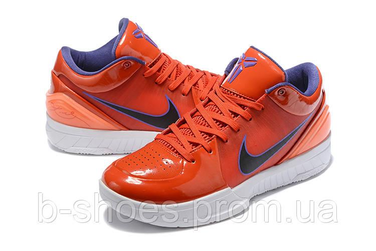Мужские Баскетбольные кроссовки Nike Kobe 4 Pronto(Orange)