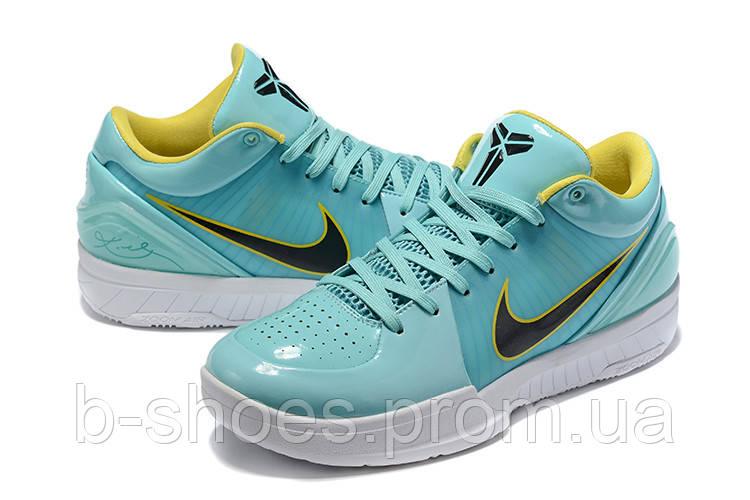 Мужские Баскетбольные кроссовки Nike Kobe 4 Pronto(Turquoise)