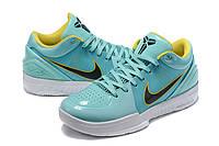 Мужские Баскетбольные кроссовки Nike Kobe 4 Pronto(Turquoise), фото 1