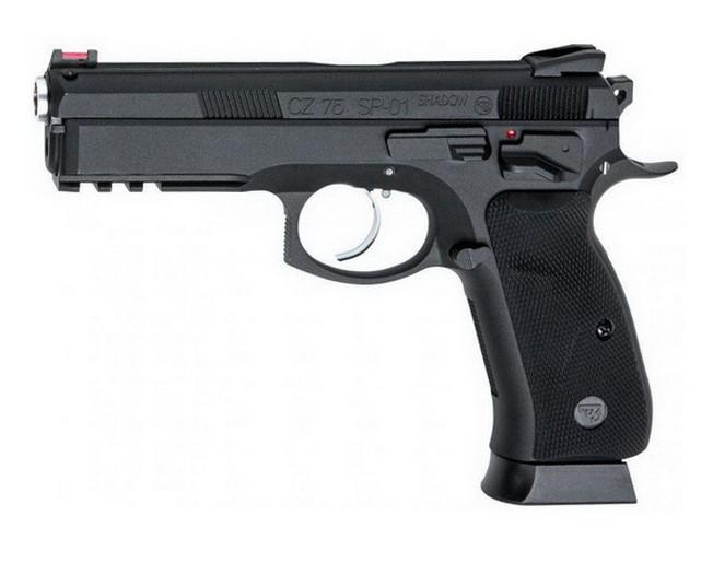 Пистолет пневматический ASG CZ SP-01 Shadow (4,5mm), черный