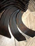 Ножи для почвофрезы R175 / 180N / 190N / 195NM ( 9 правый + 9 левый) - 18шт( комплект) мотоблоков, фото 6