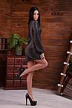 Женское платье с широкими рукавами люрекс (в расцветках), фото 3