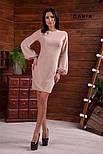 Женское платье с широкими рукавами люрекс (в расцветках), фото 4