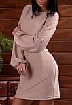 Женское платье с широкими рукавами люрекс (в расцветках), фото 5