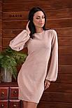 Женское платье с широкими рукавами люрекс (в расцветках), фото 6