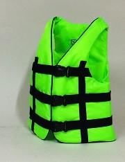 Жилет спасательный салатовый 110-130 кг.