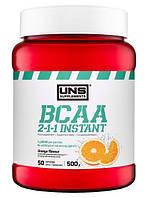Незамінні аміникислоти UNS BCAA 2-1-1 Instant - 500g апельсин