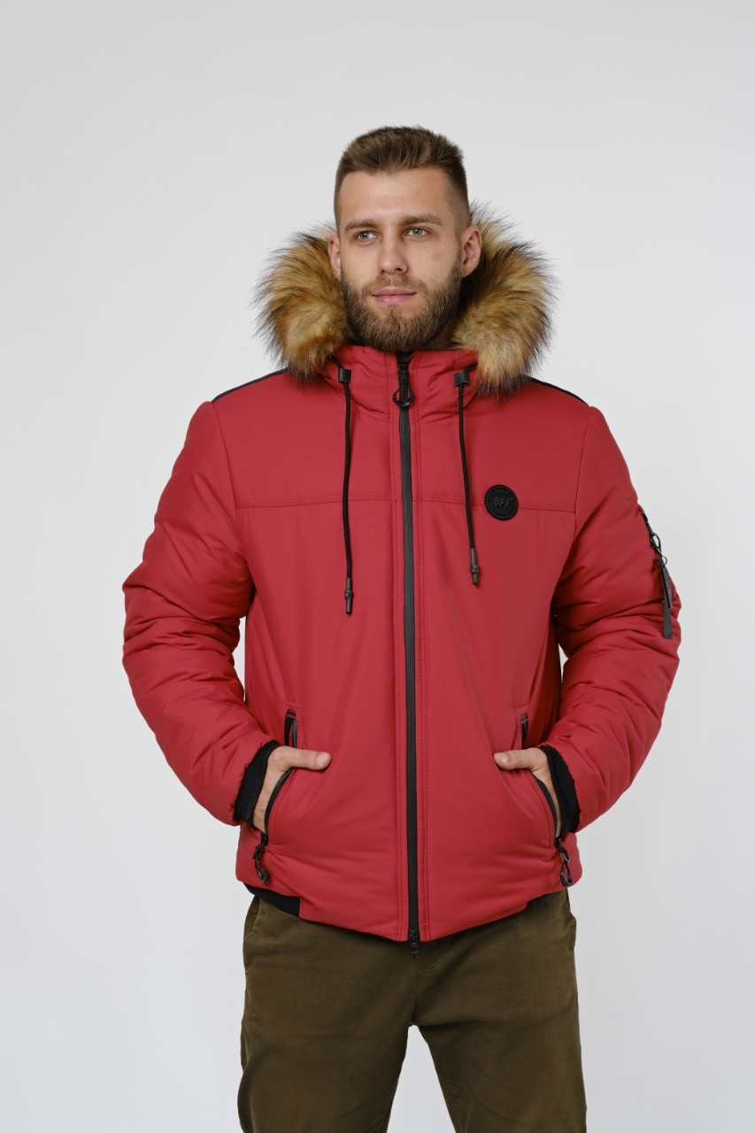 Зимняя куртка парка, мужская одежда