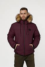 Зимняя куртка парка, мужская одежда, фото 3