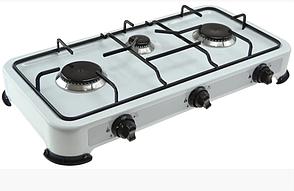 Газовая плита туристическая 3-х конфорочная плита Rainberg RB-003, фото 3