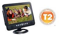 """Портативный телевизор с встроенным T2 тюнером NS-1002B-D (10""""/T2/USB/Пульт ДУ/Аккумулятор), фото 1"""