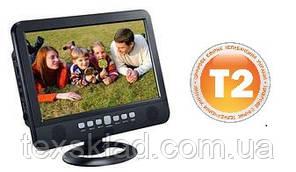 """Портативний телевізор з вбудованим T2 тюнером NS-1002B-D (10""""/T2/USB/Пульт ДУ/Акумулятор)"""