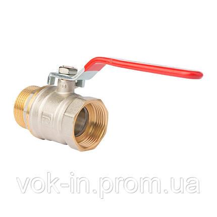 """Кран шаровый FADO NEW Н-В 3/4"""" (ручка рычаг), фото 2"""