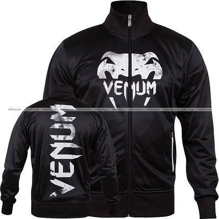 Спортивная кофта Venum Giant Grunge Jacket Black White, фото 2