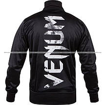 Спортивная кофта Venum Giant Grunge Jacket Black White, фото 3