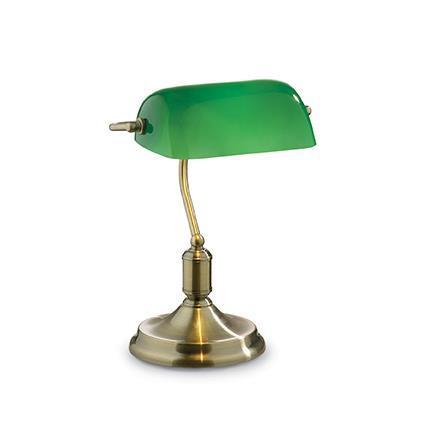 Настольная лампа Ideal Lux LAWYER TL1 BRUNITO 045030