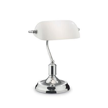 Настольная лампа Ideal Lux LAWYER TL1 CROMO 045047