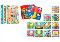 Детская Мозаика 2929-81-1 (12 картинок, 46 фишек)