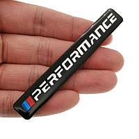3D эмблема Performance - черная, фото 1