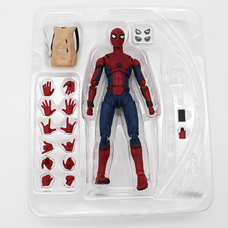 """Фигурка Человек-паук с рюкзаком и аксессуарами  """"Возвращение домой""""  - Spider-Man, Marvel"""