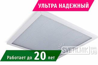 Ультранадежная LED панель 600х600 / 24W / 4200K / Колотый лед (NeoN Lights AR-624-if)