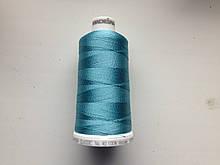 Нитки для машинной вышивки   Madeira Classic №40.  цвет 1089 ( БИРЮЗОВО-ГОЛУБОЙ ).  1000 м