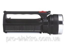 Фонарик RIGHT HAUSEN HELD 1W+7SMD аккумулятор 400mAh  HN-315012