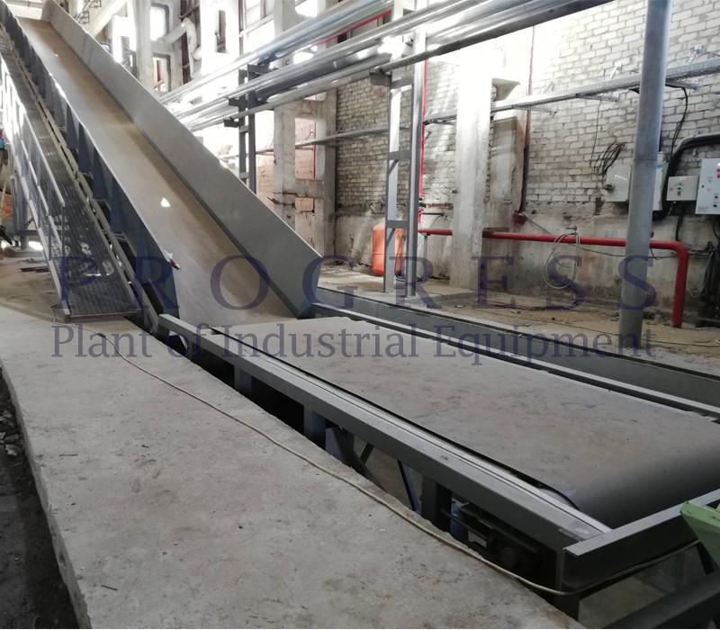 Поставка ленточного транспортера на один из крупнейших производителей картона и бумаги в Украине