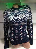 Новогодний женский свитер