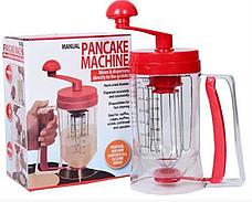 Универсальный ручной миксер для теста с дозатором Pancake Machine, аппарат для панкейков, фото 3