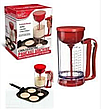 Универсальный ручной миксер для теста с дозатором Pancake Machine, аппарат для панкейков, фото 2
