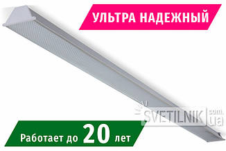 1560x100 / 18W / 4200K / Микропризма - Ультранадежный Линейный LED светильник  (S-1518-m)