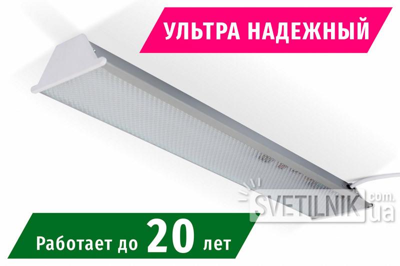 Линейный LED светильник 525x100 / 24W / 4200K / Микропризма (S-624-m)