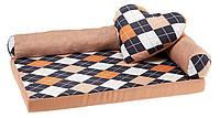 Мягкое место-лежак для собак Ferplast TOMMY ROMBUS, фото 1