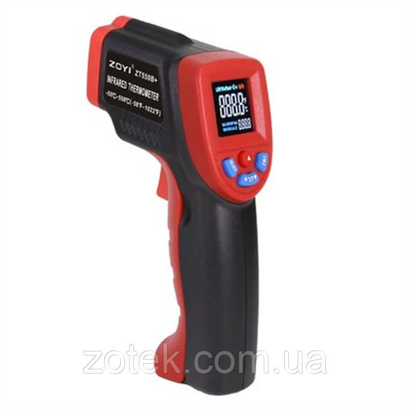 Пирометр ZOYI ZT550B+ -50 ~ 550°C EMS:0,1-1,00 Инфрокрасный Бесконтактный Термометр