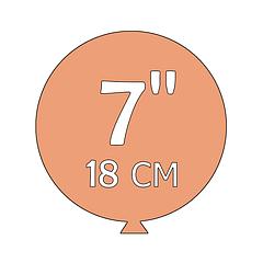 Шары 7 дюймов