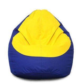 Кресло мешок груша Оксфорд Желтый/Синий, фото 2