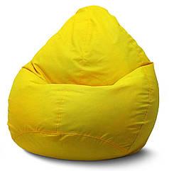 Кресло мешок груша Оксфорд Желтый