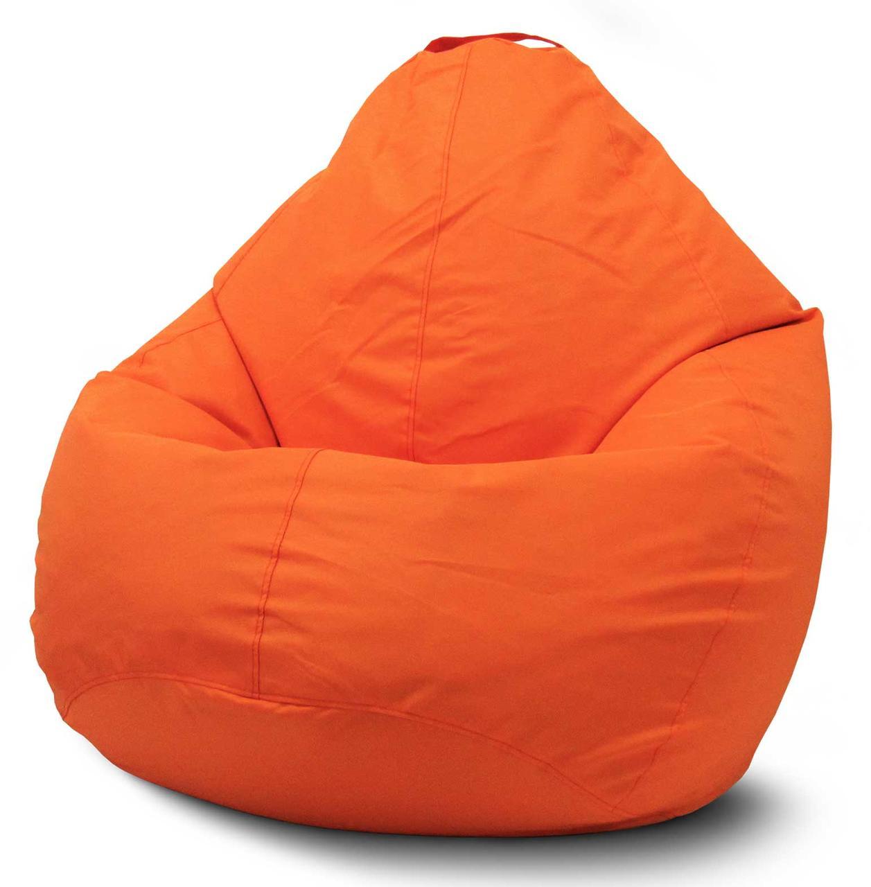 Кресло мешок груша Оксфорд Оранжевый