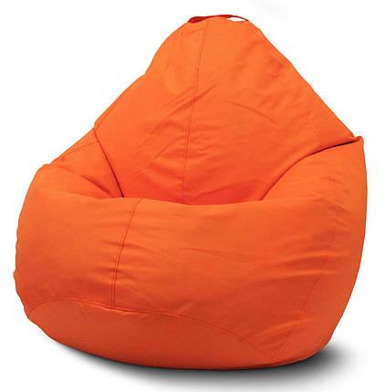 Кресло мешок груша Оксфорд Оранжевый, фото 2