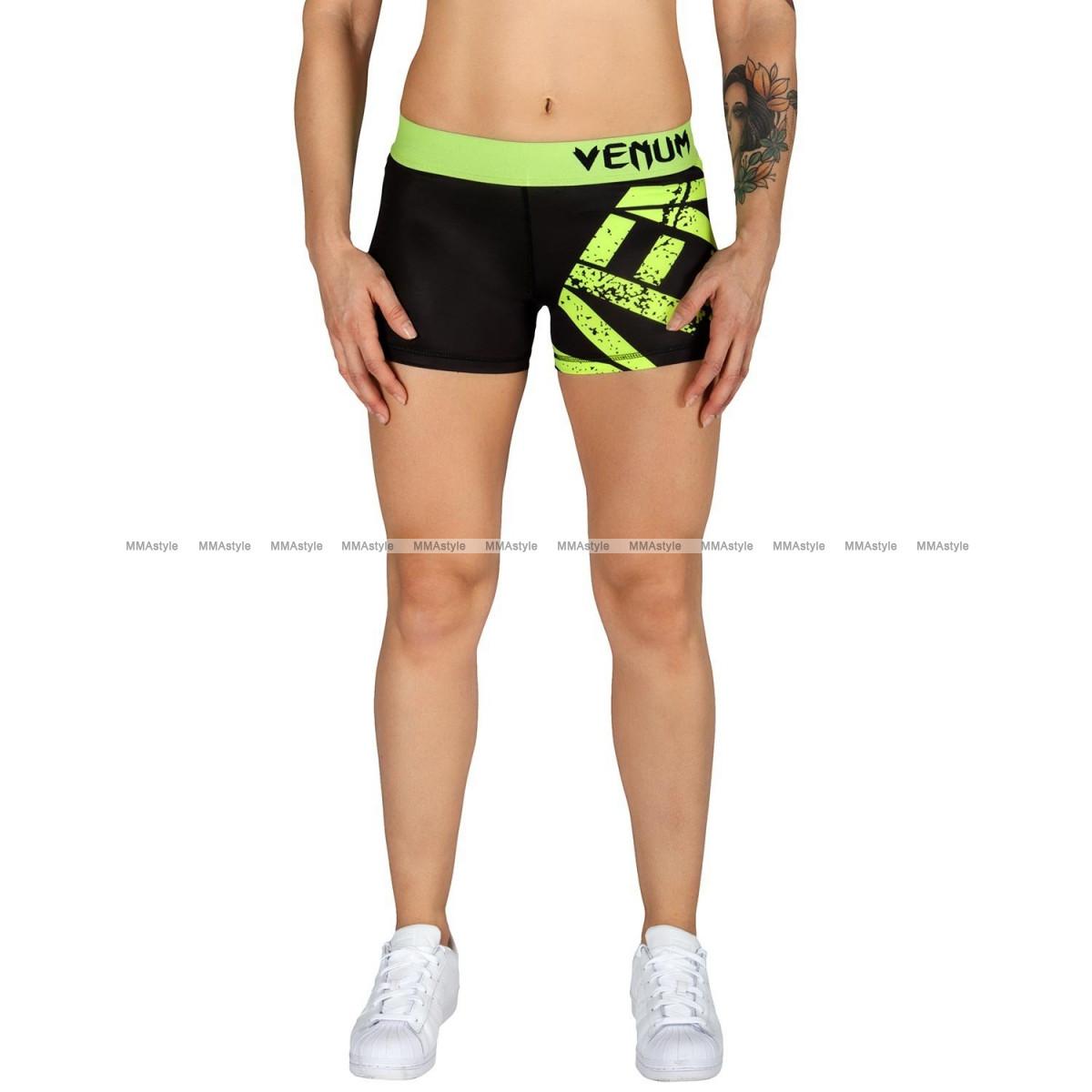 Спортивные шорты Venum Power Shorts Black Yellow