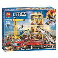 """Конструктор Bela 11216 """"Центральная пожарная станция"""" (аналог Lego City 60216), 985 дет"""