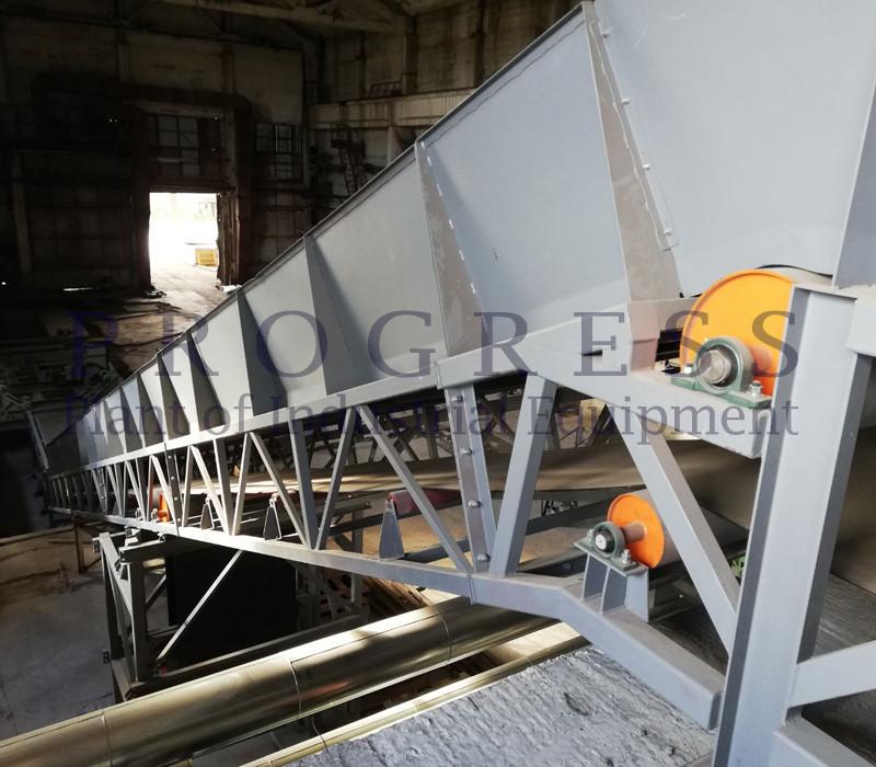Ленточный транспортер с бортами конвейер ленточный кл 1200