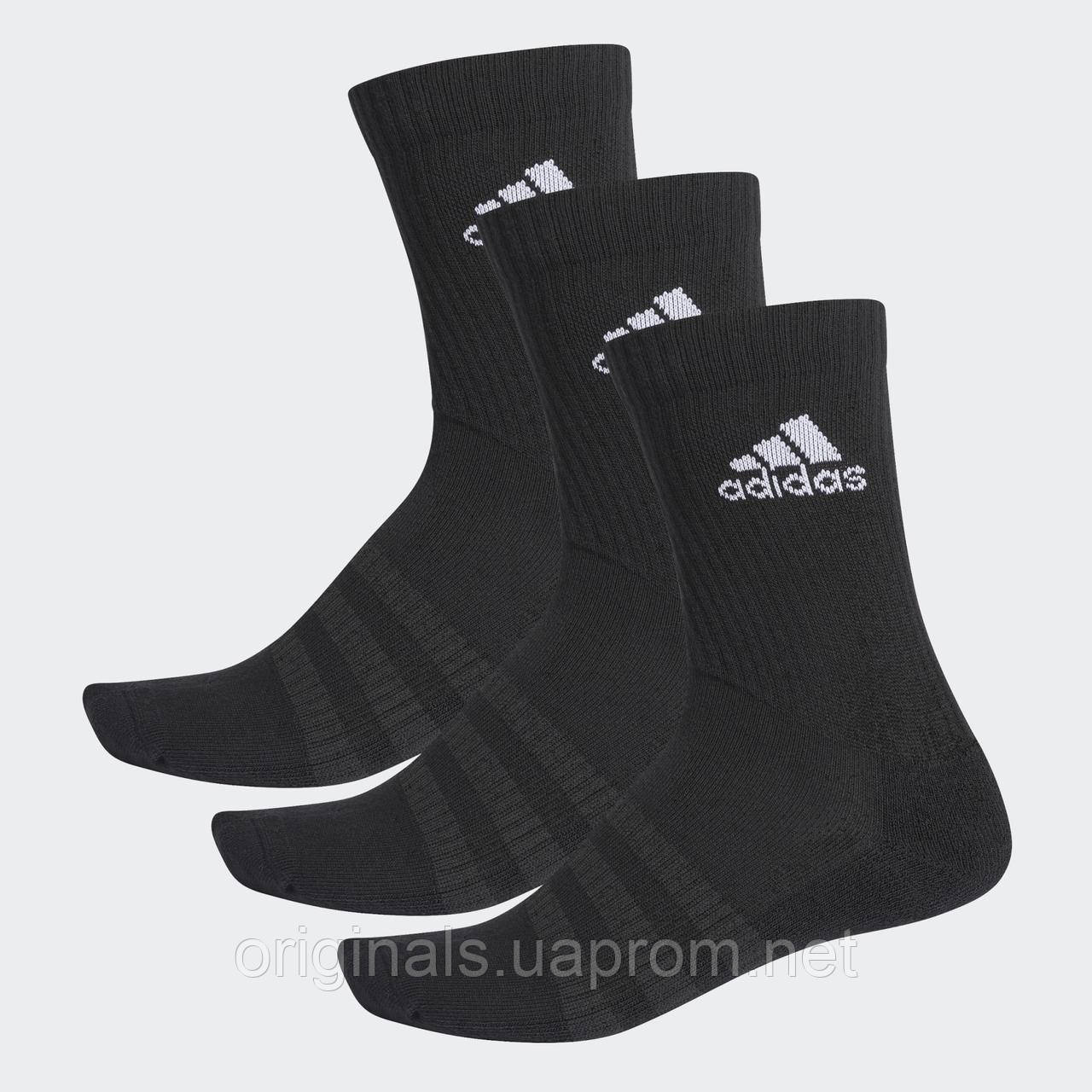 Носки спортивные Adidas Cushioned Crew 3PP DZ9357