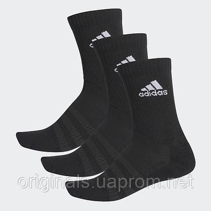 Носки спортивные Adidas Cushioned Crew 3PP DZ9357, фото 2