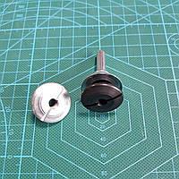 3M 15012 - Оправка (Шпиндель) 990, 6 мм для кругов 50,8 и 76,2 мм с посадочным d 9,53 мм, толщиной 3-13мм