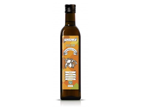 Масло из абрикосовых косточек, 0.5 л.