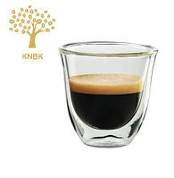 Термостакан 60 мл для кофе DeLonghi Espresso 1шт. (Двойное стекло), фото 1