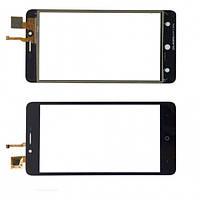 Сенсорний екран для смартфону Leagoo KIICAA Power, Pixus Volt, Bravis  B501тачскрін чорний